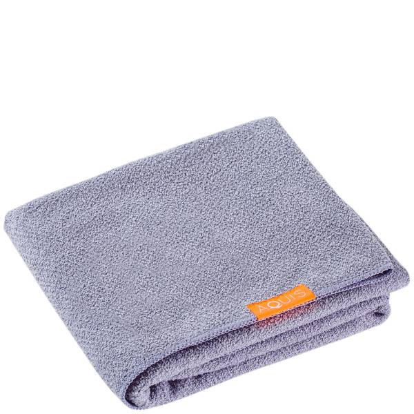 Aquis 单色奢华款干发毛巾 | 朦胧浆果紫