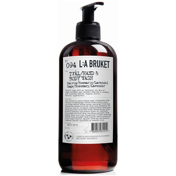 L:A BRUKET No. 094 鼠尾草/迷迭香/薰衣草沐浴露 450ml