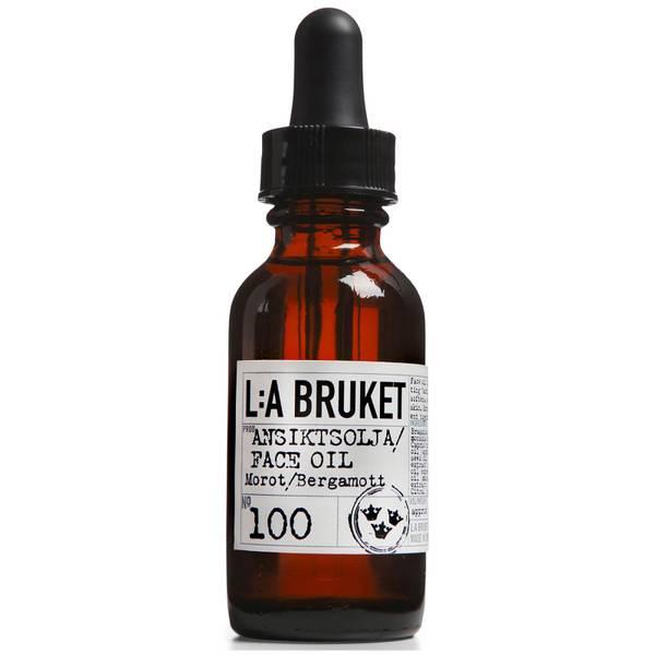 L:A BRUKET No. 100 面部护理油 30ml   胡萝卜/佛手柑