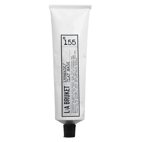 L:A BRUKET No. 155 自然泥面膜 100ml