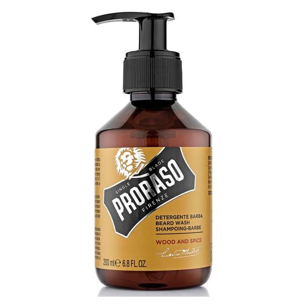 Proraso Wood and Spice Beard Wash 200ml