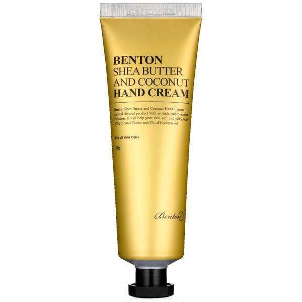 Benton 乳木果油和椰子护手霜 50g