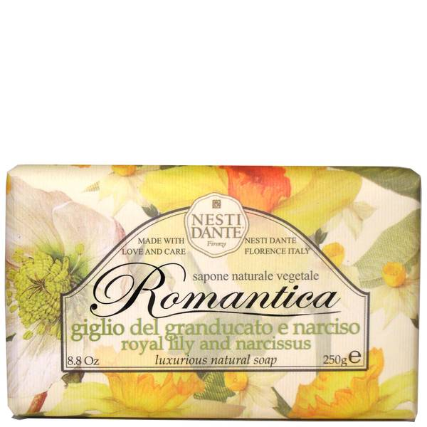 Nesti Dante 浪漫系列香氛手工皂 250g   百合和水仙