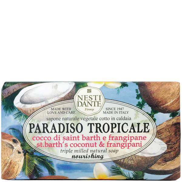 Nesti Dante 热带天堂系列-椰子&赤素馨花手工皂 250g