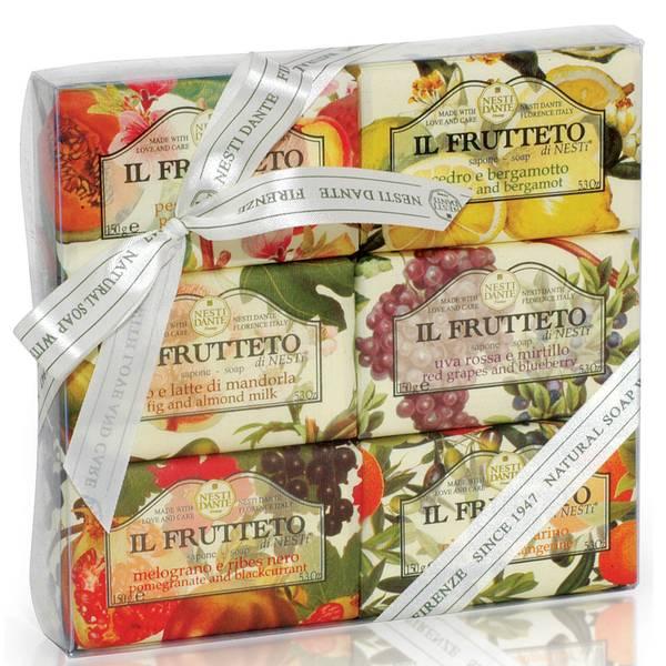 Nesti Dante Il Frutteto Soap Collection Set 6 x 150g