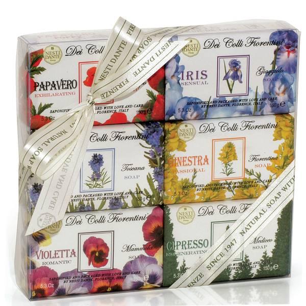 Nesti Dante 天然花妍系列手工皂套装 6 x 150g