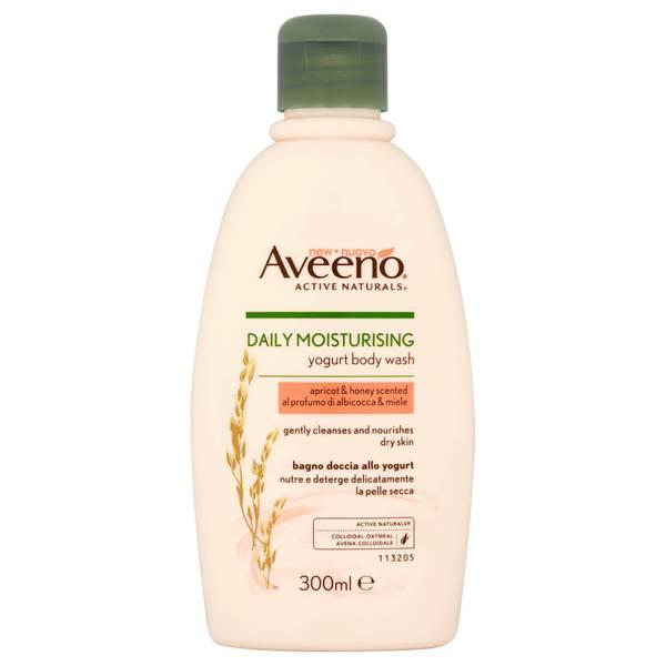 艾维诺 日常保湿沐浴露 甜杏和蜂蜜 300ml