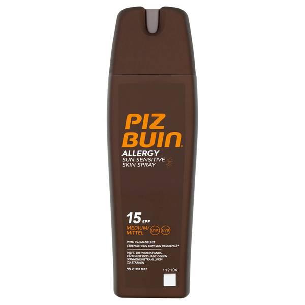 Piz Buin 阳光敏感肌肤专用防晒喷雾 | 中度 SPF15 200ml