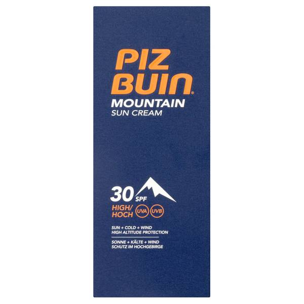 Piz Buin 登山用防晒霜 | 高度 SPF30 50ml