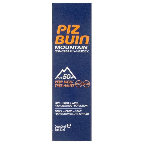 Piz Buin防晒霜和唇膏- SPF50+