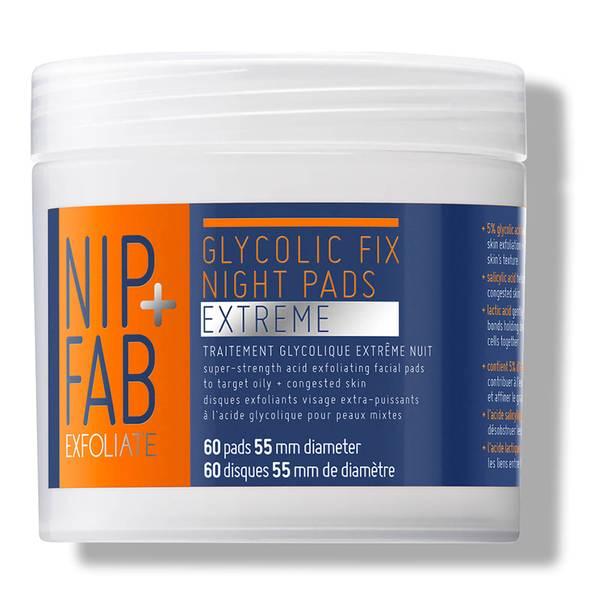 NIP+FAB乙醇酸夜用洁面巾 60片