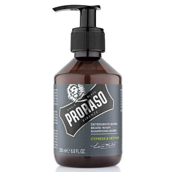 Proraso 柏树和香根草胡须清洁液200ml