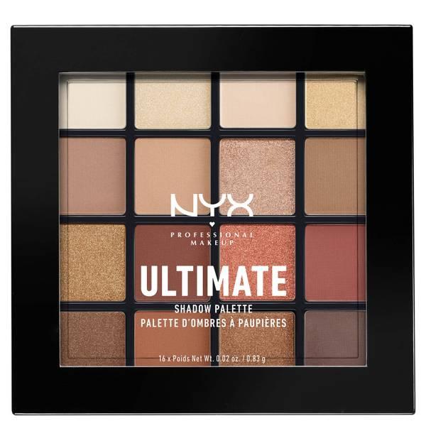 NYX 16色眼影 | Warm Neutrals