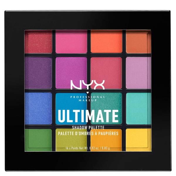 NYX 16色眼影盘 亮色系