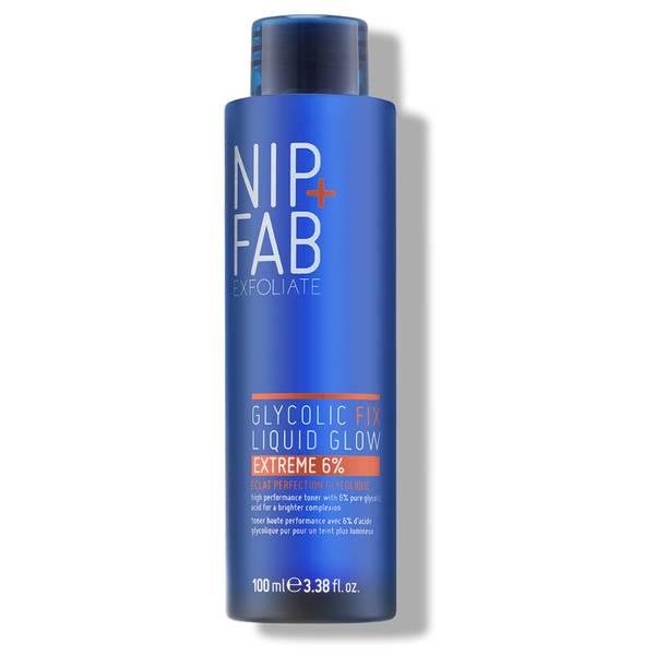 NIP + FAB 乙醇酸修护 Liquid Glow 6% 去角质啫喱|100ml