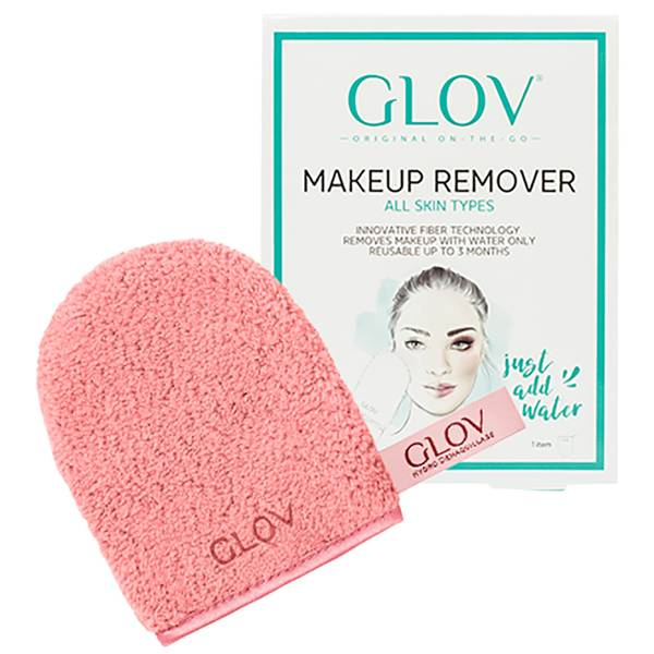 GLOV 懒人清水卸妆巾 | 蜜桃粉
