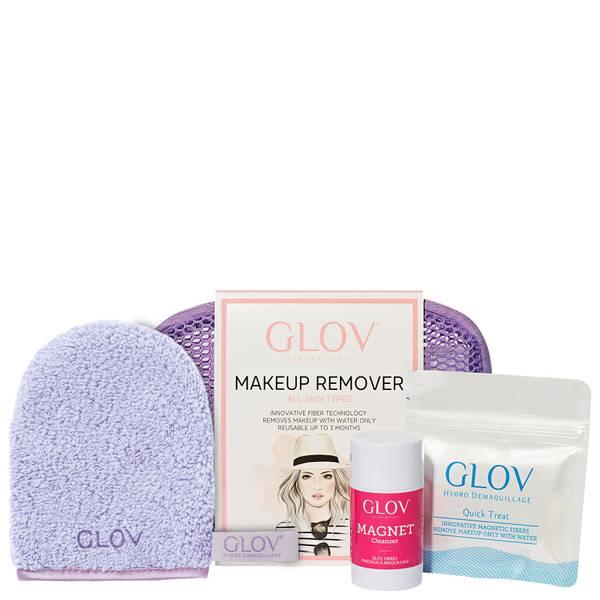 GLOV 卸妆巾旅行套装   紫色