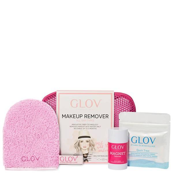 GLOV 卸妆巾旅行套装   粉色