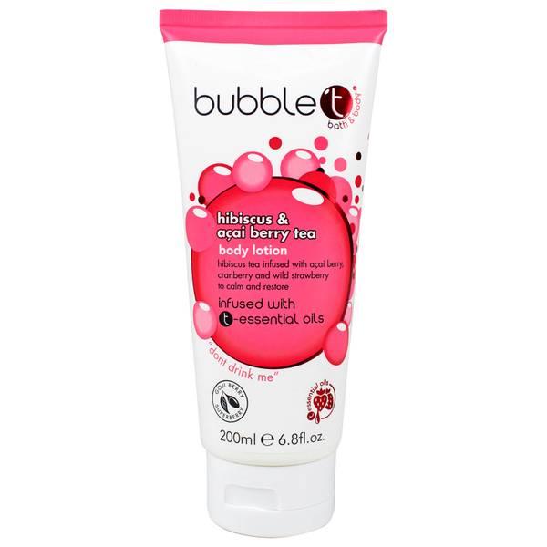Bubble T 木槿与巴西莓茶身体乳 200ml