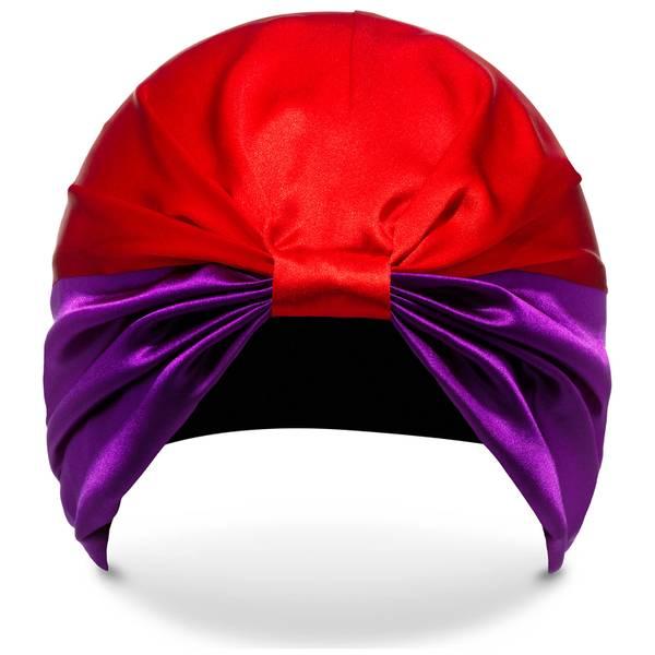 SILKE The Dita 束发套 - 紫色和红色