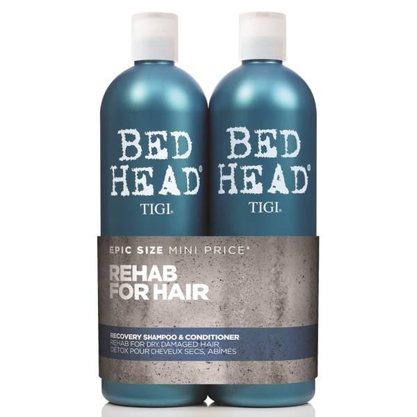 TIGI Bed Head 都市清毒修护滋养洗发水和护发素 2 x 750ml