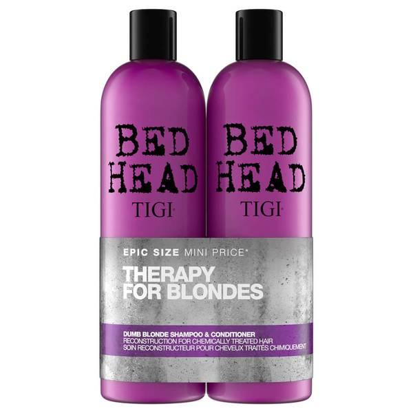 TIGI Bed Head 金发修复洗发水与护发素两件套 2 x 750ml   针对染色头发