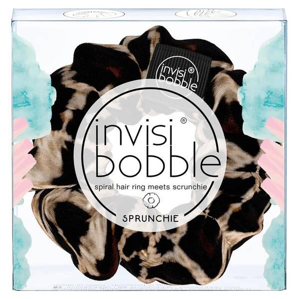 invisibobble Sprunchie Spiral 发圈 - Purrfection 棕色花纹