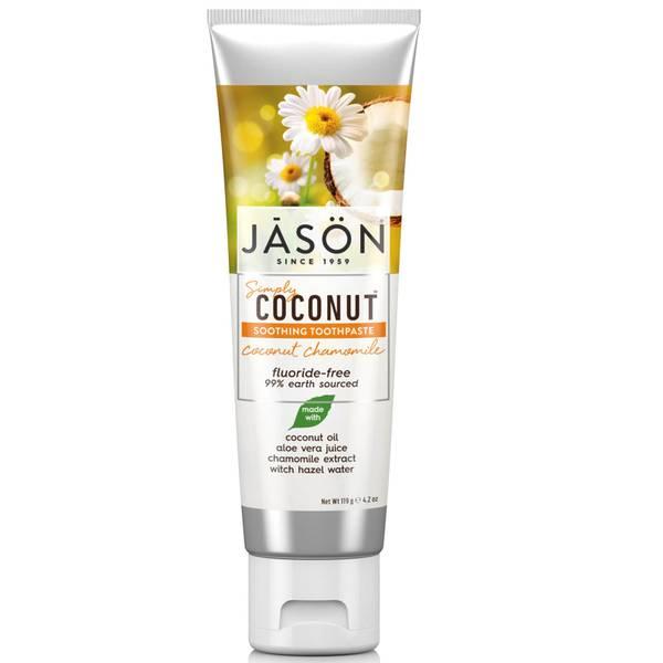 JASON 椰子洋甘菊舒缓牙膏 119g
