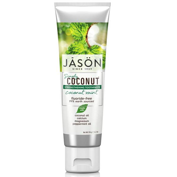 JASON 椰子薄荷固齿牙膏 119g