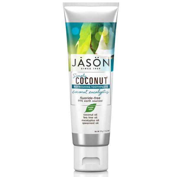 JASON 椰子尤加利口气清新牙膏 119g