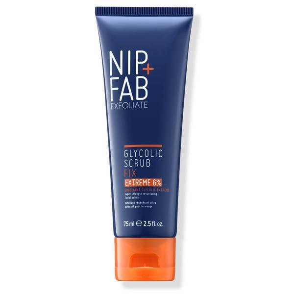 NIP + FAB 6% 甘醇酸极致磨砂膏 75ml