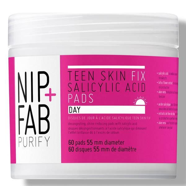 NIP + FAB 青少年皮肤修复水杨酸日垫60片