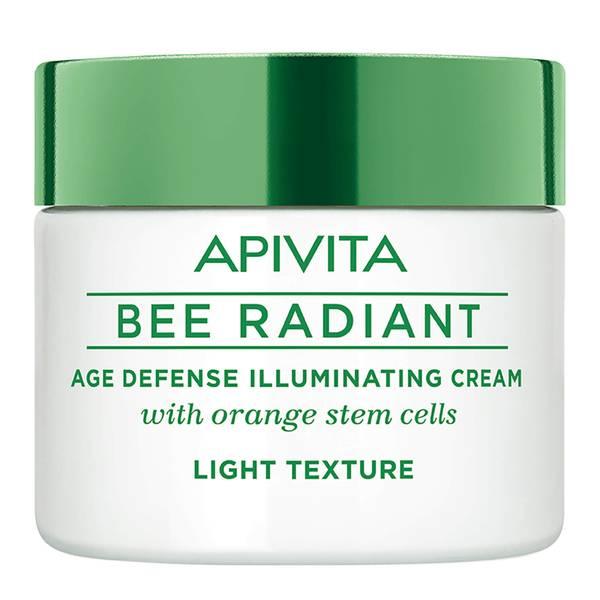 APIVITA 蜜蜂焕采系列抗老亮肌面霜 50ml   轻盈质地