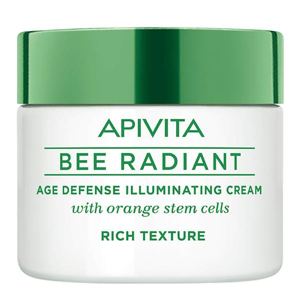 APIVITA 蜜蜂焕采系列抗老亮肌面霜 50ml   丰盈质地