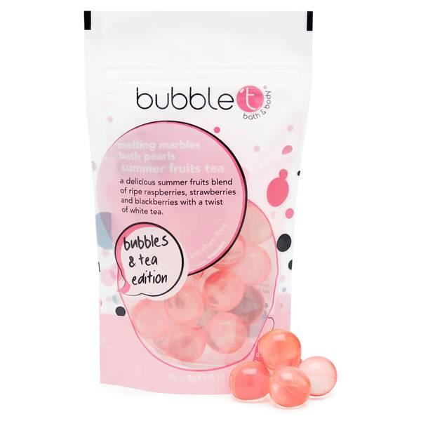 Bubble T 夏日水果系列茶香沐浴精油泡泡球 25 x 4g