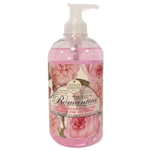 Nesti Dante 玫瑰和牡丹洁肤皂液 500ml