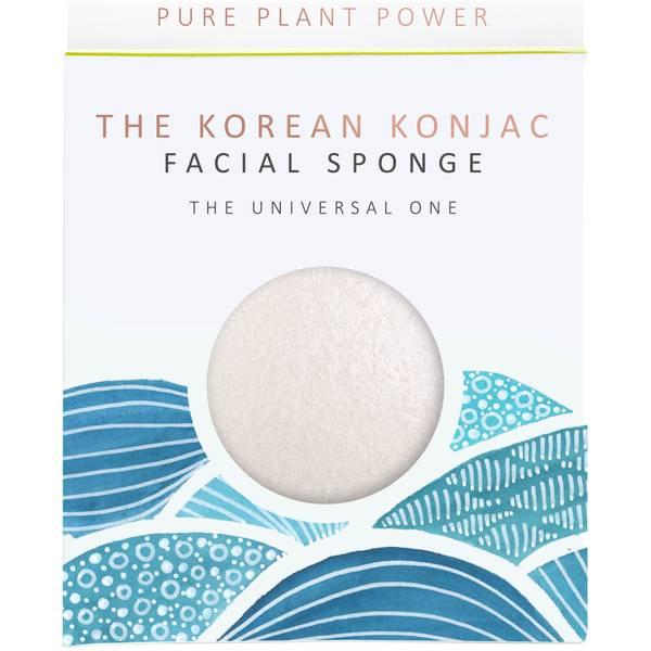 魔芋海绵基本元素系列洁面海绵   水   100% 纯白 30g