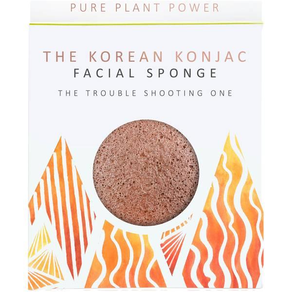 魔芋海绵基本元素系列洁面海绵   火   净化火山灰 30g