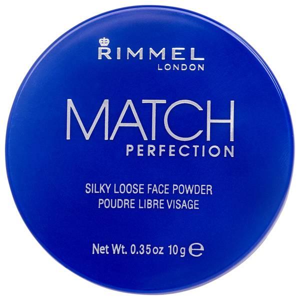 Rimmel 完美匹配散粉丨透明色