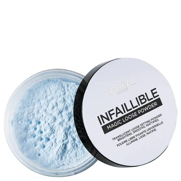 巴黎欧莱雅 Infallible 系列定妆散粉丨01 蓝色 6g