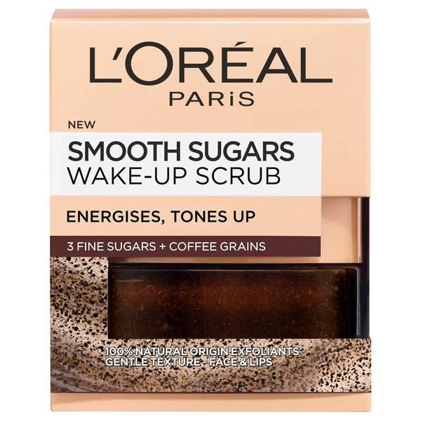 巴黎欧莱雅蜜糖系列焕肤咖啡面部唇部磨砂膏 50ml