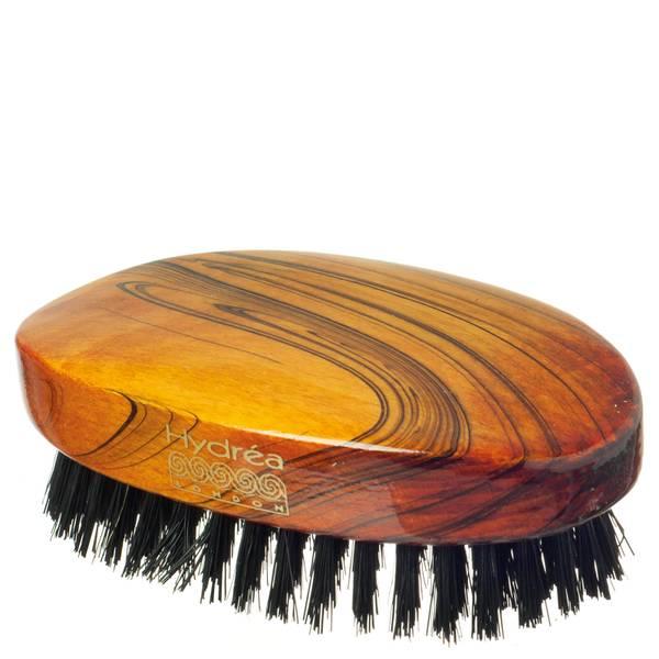 Hydrea London 军用发刷 | 光滑漆面 | 纯黑猪毛刷毛(高硬度)| 获得 FSC 认证
