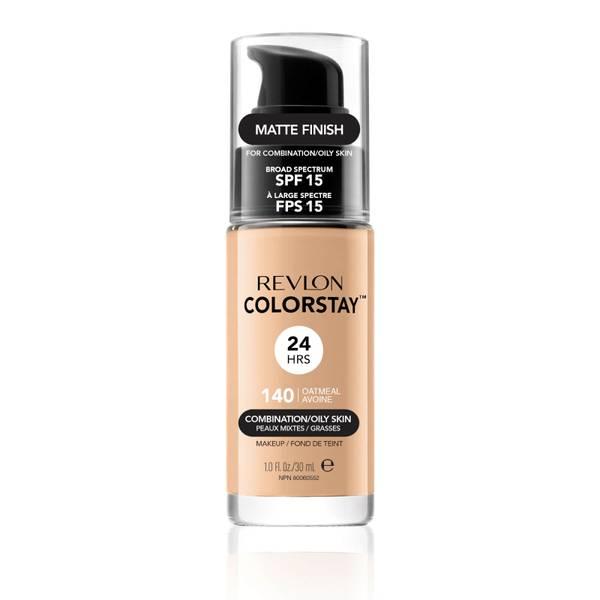 露华浓不脱色粉底液 | 适合混合/油性肌肤 | 多色可选
