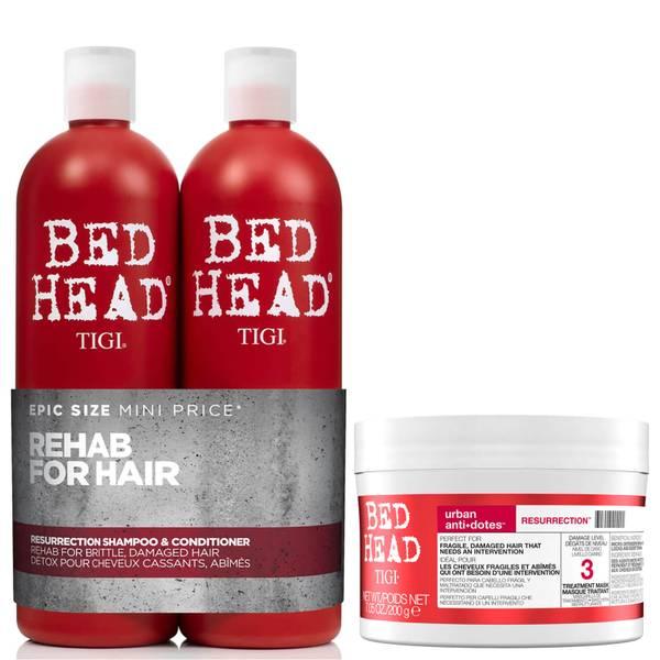 TIGI Bed Head 修护洗发水/护发素/发膜套装
