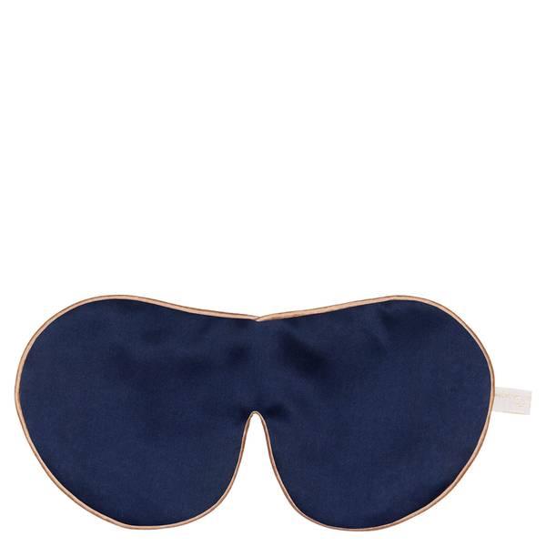 Holistic Silk 单束带真丝薰衣草眼罩   海军蓝