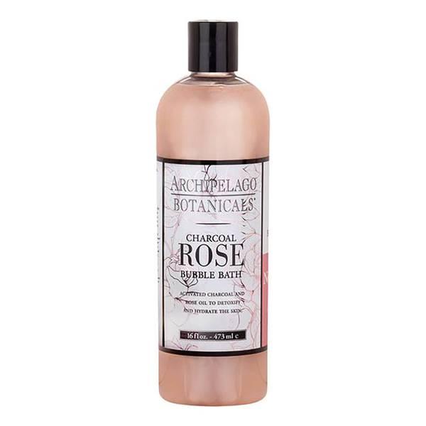 Archipelago Botanicals Charcoal Rose Bubble Bath 16oz