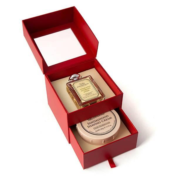 Taylor of Old Bond Street Shaving Wood 2 Piece Gift Set- Aftershave & Shaving Cream
