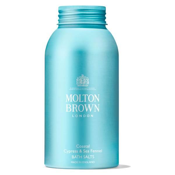 Molton Brown 沿海柏樹和海茴香浴盐 300g
