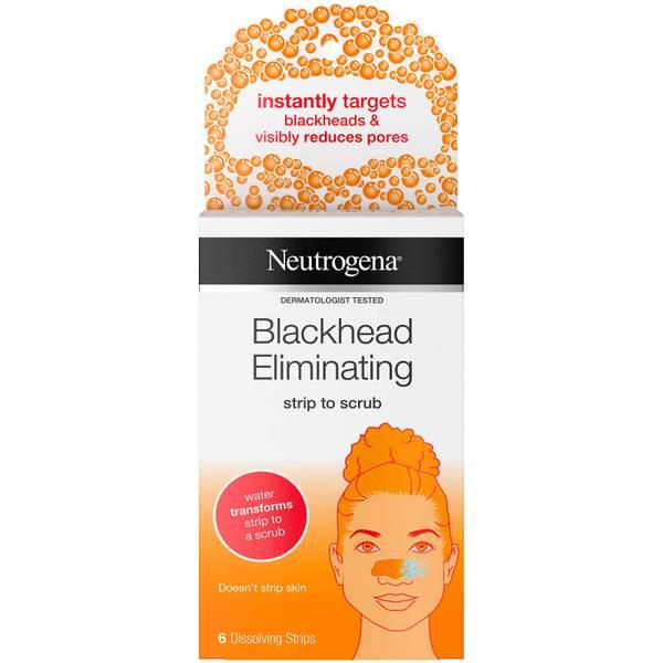 Neutrogena Blackhead Eliminating Strip to Scrub with Salicylic Acid (6 Strips)