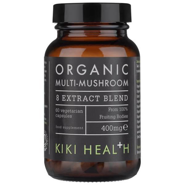 KIKI Health 八种菌菇萃取植物胶囊 60 粒